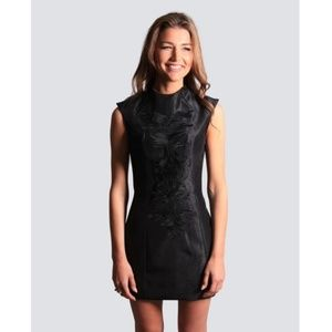 NWT Cameo embroidered cap Tokyo mini dress